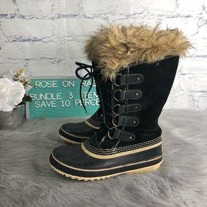 Sorel Joan Of Arctic Tall Rubber Soles Snow Boot